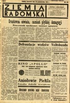 Ziemia Radomska, 1932, R. 5, nr 241