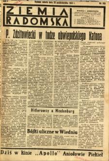 Ziemia Radomska, 1932, R. 5, nr 243