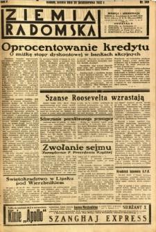 Ziemia Radomska, 1932, R. 5, nr 249