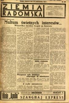 Ziemia Radomska, 1932, R. 5, nr 250