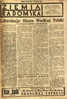 Ziemia Radomska, 1932, R. 5, nr 251