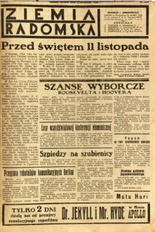 Ziemia Radomska, 1932, R. 5, nr 254