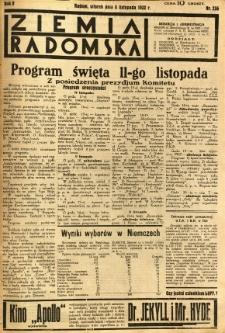 Ziemia Radomska, 1932, R. 5, nr 256