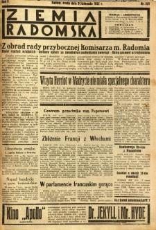 Ziemia Radomska, 1932, R. 5, nr 257