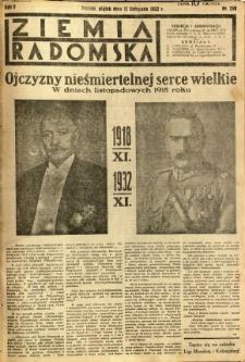 Ziemia Radomska, 1932, R. 5, nr 259