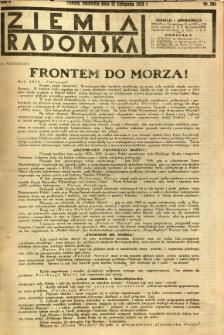 Ziemia Radomska, 1932, R. 5, nr 261