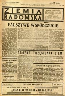 Ziemia Radomska, 1932, R. 5, nr 268