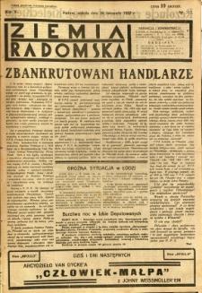 Ziemia Radomska, 1932, R. 5, nr 272