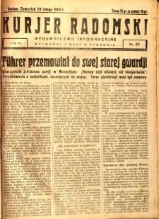 Kurier Radomski, 1940, R. 2, nr 25