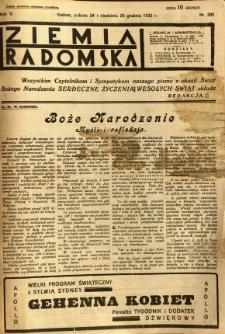 Ziemia Radomska, 1932, R. 5, nr 295