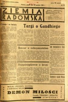 Ziemia Radomska, 1932, R. 5, nr 298