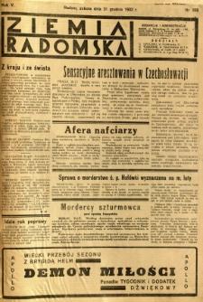 Ziemia Radomska, 1932, R. 5, nr 299
