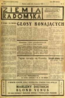 Ziemia Radomska, 1933, R. 6, nr 3