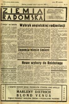 Ziemia Radomska, 1933, R. 6, nr 4