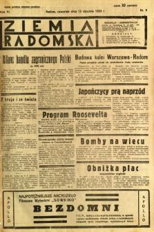 Ziemia Radomska, 1933, R. 6, nr 9