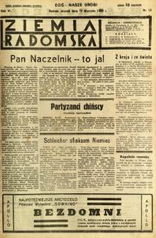 Ziemia Radomska, 1933, R. 6, nr 13