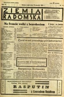 Ziemia Radomska, 1933, R. 6, nr 14