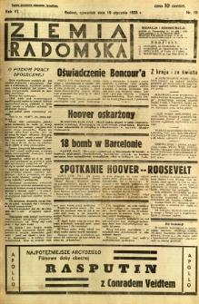 Ziemia Radomska, 1933, R. 6, nr 15