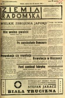 Ziemia Radomska, 1933, R. 6, nr 23