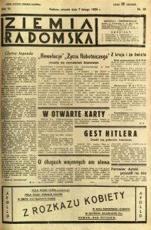 Ziemia Radomska, 1933, R. 6, nr 30