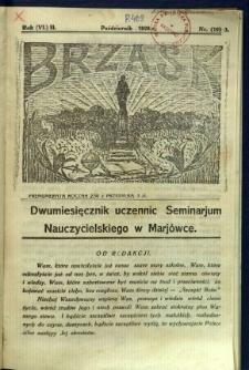 Brzask: Dwumiesięcznik uczennic Seminarium Nauczycielskiego w Mariówce, 1928, R. (6) 2, nr (19) 3