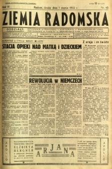 Ziemia Radomska, 1933, R. 6, nr 49