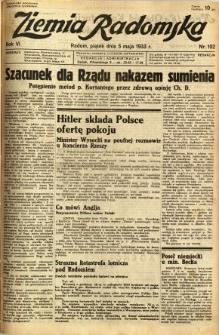 Ziemia Radomska, 1933, R. 6, nr 102