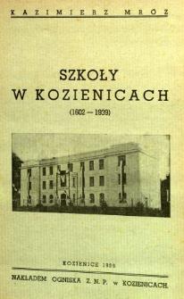 Szkoły w Kozienicach (1602-1939)