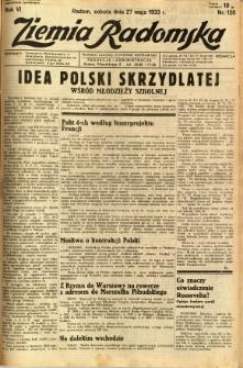 Ziemia Radomska, 1933, R. 6, nr 120