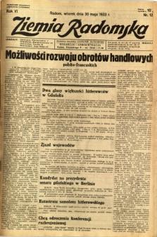 Ziemia Radomska, 1933, R. 6, nr 122