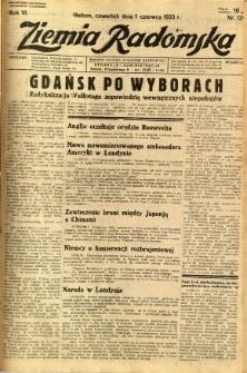 Ziemia Radomska, 1933, R. 6, nr 124