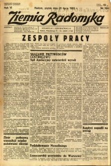Ziemia Radomska, 1933, R. 6, nr 164