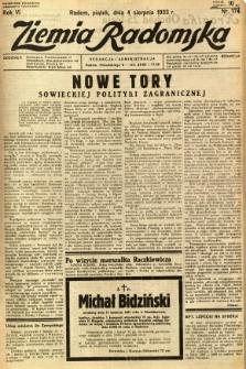 Ziemia Radomska, 1933, R. 6, nr 176