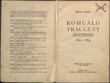 Romuald Traugutt i jego dyktatura podczas powstania styczniowego : 1863-1864. Wyd. 3 powiększ.