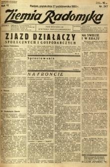 Ziemia Radomska, 1933, R. 6, nr 247