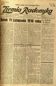 Ziemia Radomska, 1933, R. 6, nr 258