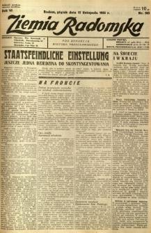 Ziemia Radomska, 1933, R. 6, nr 263
