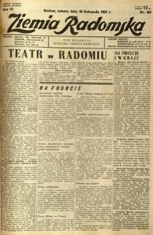 Ziemia Radomska, 1933, R. 6, nr 264