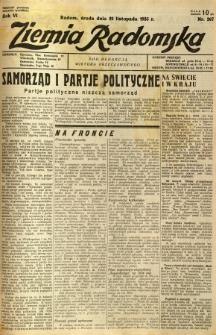 Ziemia Radomska, 1933, R. 6, nr 267