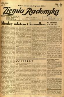 Ziemia Radomska, 1933, R. 6, nr 283