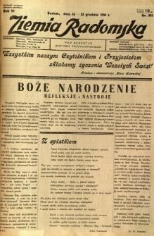 Ziemia Radomska, 1933, R. 6, nr 293
