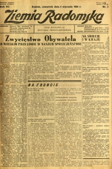 Ziemia Radomska, 1934, R. 7, nr 3