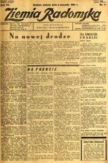 Ziemia Radomska, 1934, R. 7, nr 5