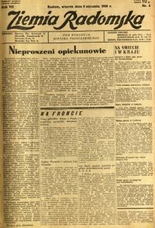 Ziemia Radomska, 1934, R. 7, nr 6