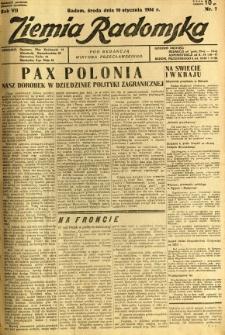 Ziemia Radomska, 1934, R. 7, nr 7