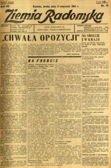 Ziemia Radomska, 1934, R. 7, nr 13