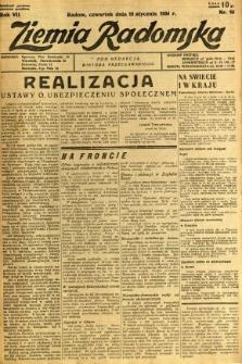 Ziemia Radomska, 1934, R. 7, nr 14