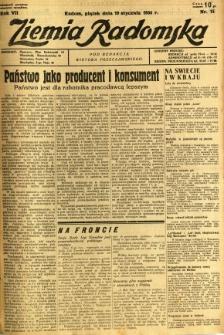 Ziemia Radomska, 1934, R. 7, nr 15