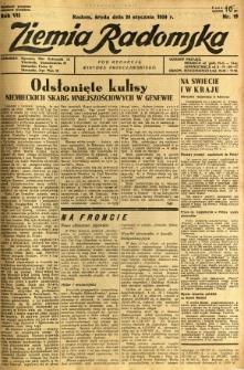 Ziemia Radomska, 1934, R. 7, nr 19