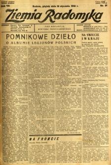 Ziemia Radomska, 1934, R. 7, nr 21